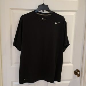 Nike Men's Dri Fit Black Tee XL
